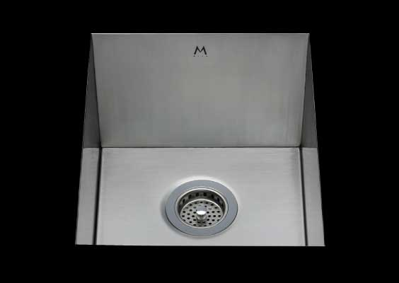 stainless Steel Kitchen Sink, under mount top mount stainless steel sink, dual mountable stainless steel sink, single bowl kitchen sink 18 X 13 X 10