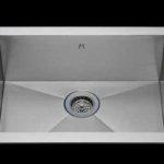 Flush mount kitchen sink, True Flush Mount stainless steel kitchen sink, single bowl kitchen sink 21 X 15 X 10
