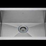 Flush mount kitchen sink, True Flush Mount stainless steel kitchen sink, single bowl kitchen sink 25 X 15 X 10