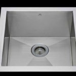 Flush mount kitchen sink, True Flush Mount stainless steel kitchen sink, single bowl kitchen sink 17 X 18 X 10