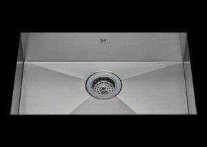 ADA stainless Steel Kitchen Sink, under mount top mount stainless steel sink, dual mountable stainless steel sink, single bowl kitchen sink 21 x 15 x 6
