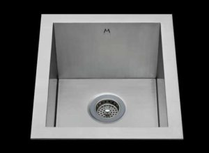 Flush mount kitchen sink, True Flush Mount stainless steel kitchen sink, single bowl kitchen sink, bar sink 13 X 18 X10