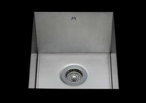 stainless Steel Kitchen Sink, under mount top mount stainless steel sink, dual mountable stainless steel sink, easy to clean kitchen sink with bevel bowl design, single bowl kitchen sink 18 X 13 X 10