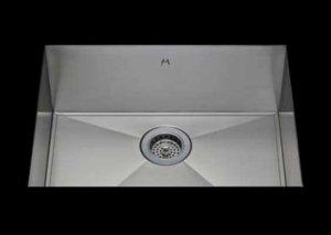 stainless Steel Kitchen Sink, under mount top mount stainless steel sink, dual mountable stainless steel sink, easy to clean kitchen sink with bevel bowl design, single bowl kitchen sink 21 X 15 X 10