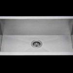 Flush mount kitchen sink, True Flush Mount stainless steel kitchen sink, single bowl kitchen sink 33 X 18 X 10