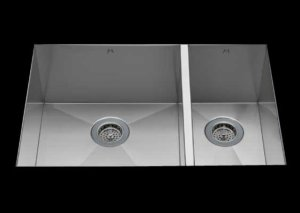 stainless Steel Kitchen Sink, under mount top mount stainless steel sink, dual mountable stainless steel sink, double bowl kitchen sink 17/9 X 18 X 10/8