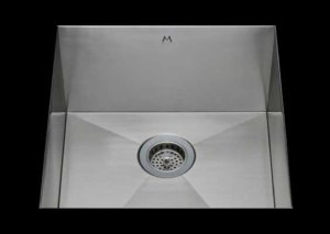 stainless Steel Kitchen Sink, under mount top mount stainless steel sink, dual mountable stainless steel sink, single bowl kitchen sink 17 x 15 x 10