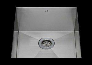stainless Steel Kitchen Sink, under mount top mount stainless steel sink, dual mountable stainless steel sink, single bowl kitchen sink 17 x 15 x 10