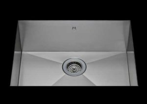 stainless Steel Kitchen Sink, under mount top mount stainless steel sink, dual mountable stainless steel sink, single bowl kitchen sink 21 X 15 X 10
