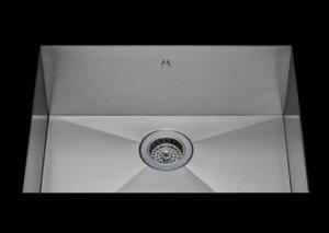 stainless Steel Kitchen Sink, under mount top mount stainless steel sink, dual mountable stainless steel sink, single bowl kitchen sink 21 X 15 X 10