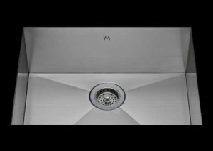stainless Steel Kitchen Sink, under mount top mount stainless steel sink, dual mountable stainless steel sink, single bowl kitchen sink 25 X 15 X 10
