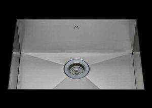 stainless Steel Kitchen Sink, under mount top mount stainless steel sink, dual mountable stainless steel sink, single bowl kitchen sink 25 X 15 X 10