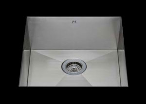stainless Steel Kitchen Sink, under mount top mount stainless steel sink, dual mountable stainless steel sink, single bowl kitchen sink 26 X 16.5 X 10