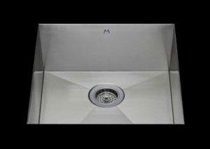 stainless Steel Kitchen Sink, under mount top mount stainless steel sink, dual mountable stainless steel sink, single bowl kitchen sink 26 X 16.5 X 10