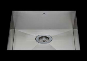 stainless Steel Kitchen Sink, under mount top mount stainless steel sink, dual mountable stainless steel sink, single bowl kitchen sink 29 X 16.5 X 10