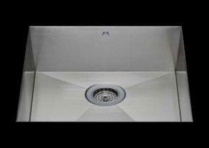 stainless Steel Kitchen Sink, under mount top mount stainless steel sink, dual mountable stainless steel sink, single bowl kitchen sink 29 X 16.5 X 10
