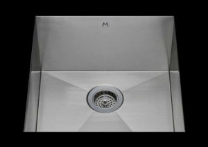 stainless Steel Kitchen Sink, under mount top mount stainless steel sink, dual mountable stainless steel sink, single bowl kitchen sink, 20 X 16.5 X 10