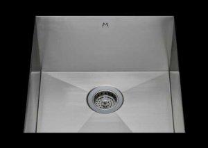 stainless Steel Kitchen Sink, under mount top mount stainless steel sink, dual mountable stainless steel sink, single bowl kitchen sink, 20 X 16.5 X 10
