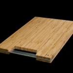 high quality bamboo Cutting Board With Steel Handle